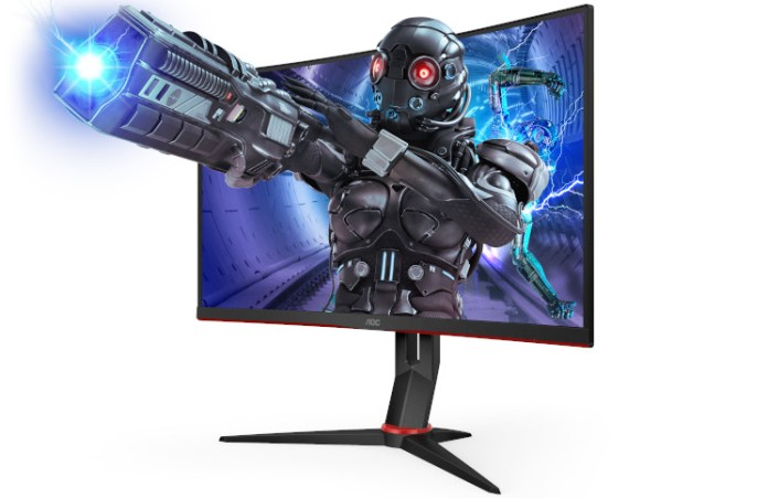 The AOC G2 series represented by the C27G2ZE/BK