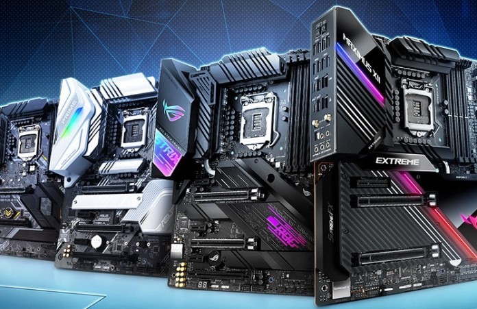 ASUS Comet Lake Boards Shown: Taking Z490 to the Maximus