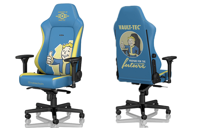 noblechairs Presents Fallout Vault-Tec Edition HERO Chair