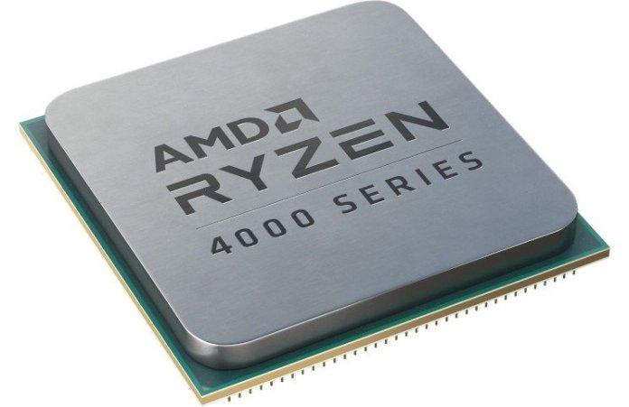 amd desktop renoir cpu render, with 'AMD RYZEN 4000 SERIES