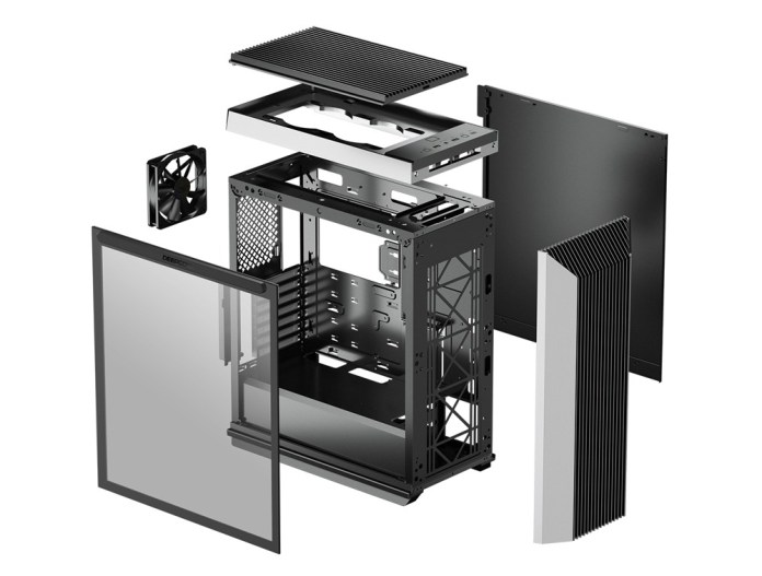 DeepCool CL500 Case Exploded New