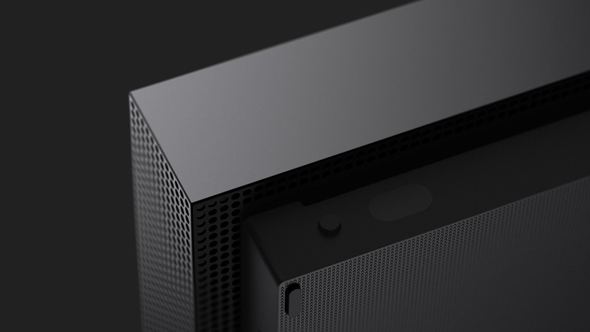 Microsoft entrega mais um excelente design com o Xbox One X