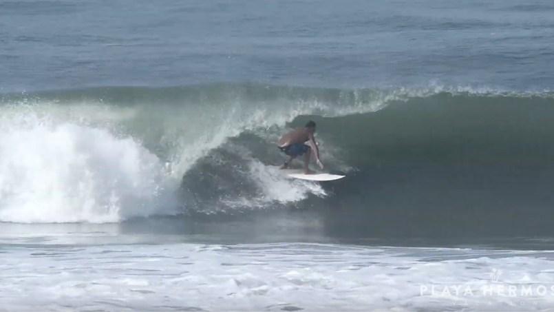Surfing at Playa Hermosa, Costa Rica October 17 & 18, 2019