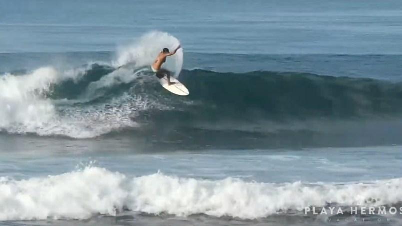 Surfing at Playa Hermosa, Costa Rica January 20 & 21, 2020