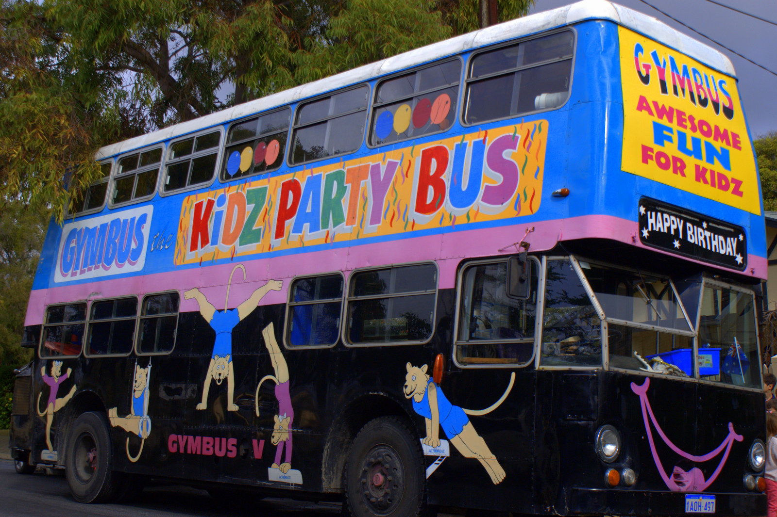 Gymbus The Party Bus Of Fun What S On For Adelaide Families Kidswhat S On For Adelaide Families Kids