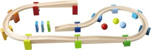 An amazing first ball track set for your little one!