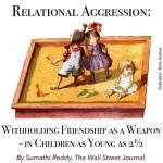MEAN Girls—In the Preschool Years?!