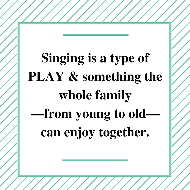 Singing is PLAY!