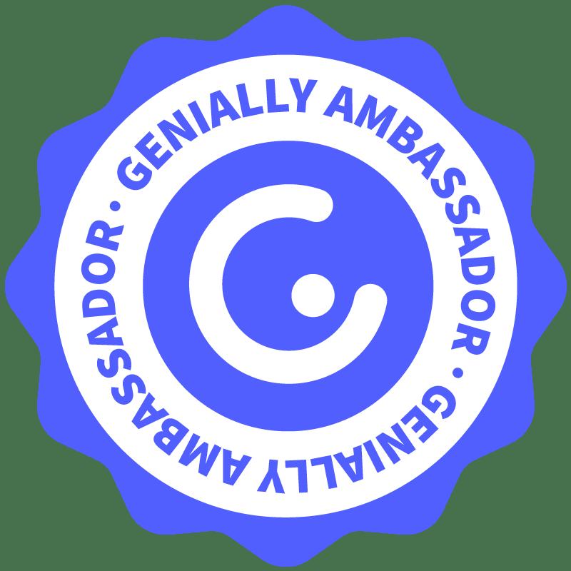Sono ambassador Genially. Se avete curiosità contattatemi!