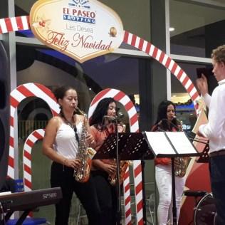 Konzert im Shopping mit Tobi als Dirigenten!