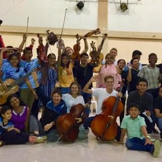Nach einem erfolgreichen Konzert im Casique (Juni 2019)