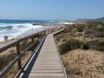 Sendero de acceso a las playas