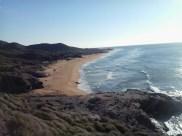 Playas de Negrete y Larga desde Punta Negrete