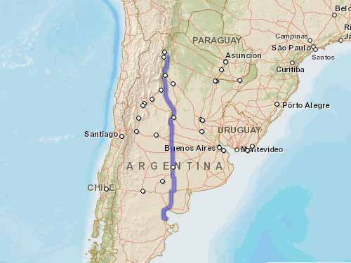 Como llegar a Playas Doradas desde San Salvador de Jujuy