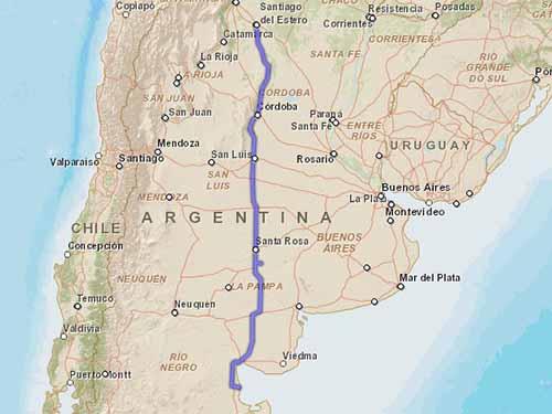 Como llegar a Playas Doradas desde Santiago del Estero
