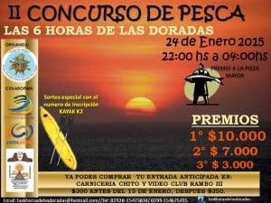 Playas Doradas concurso pesca 2da edicion las seis horas de las doradas