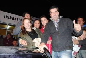 Nelson Iribarren ganó en Sierra Grande