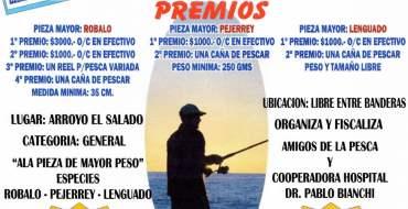 """Gran concurso de pesca """"El gran duelo entre 2 corrientes de pesca"""""""