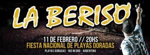 La Beriso abrira la II Fiesta Nacional de Playas Doradas