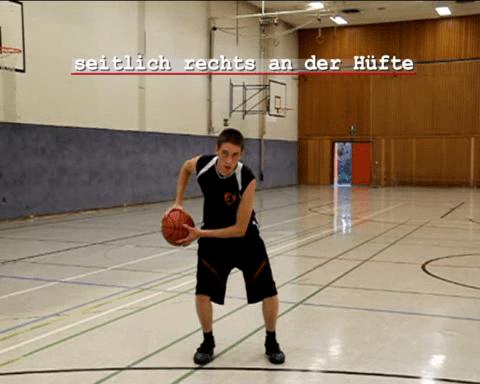 001 Basics – Dribbling Halteposition des Balles