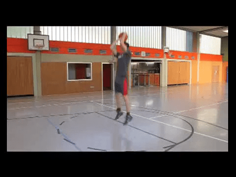 033 Basics – Sprungwurf aus dem Dribbling