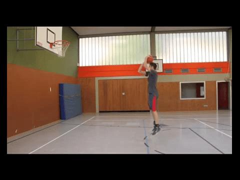 034 Basics – Sprungwurf aus dem Stand