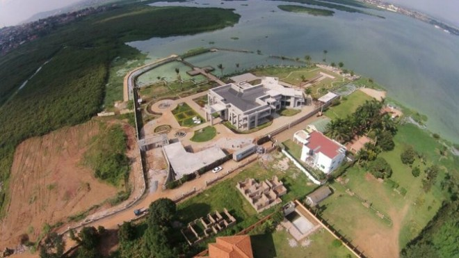 Hamis' multibillion pad is located in Ggaba8