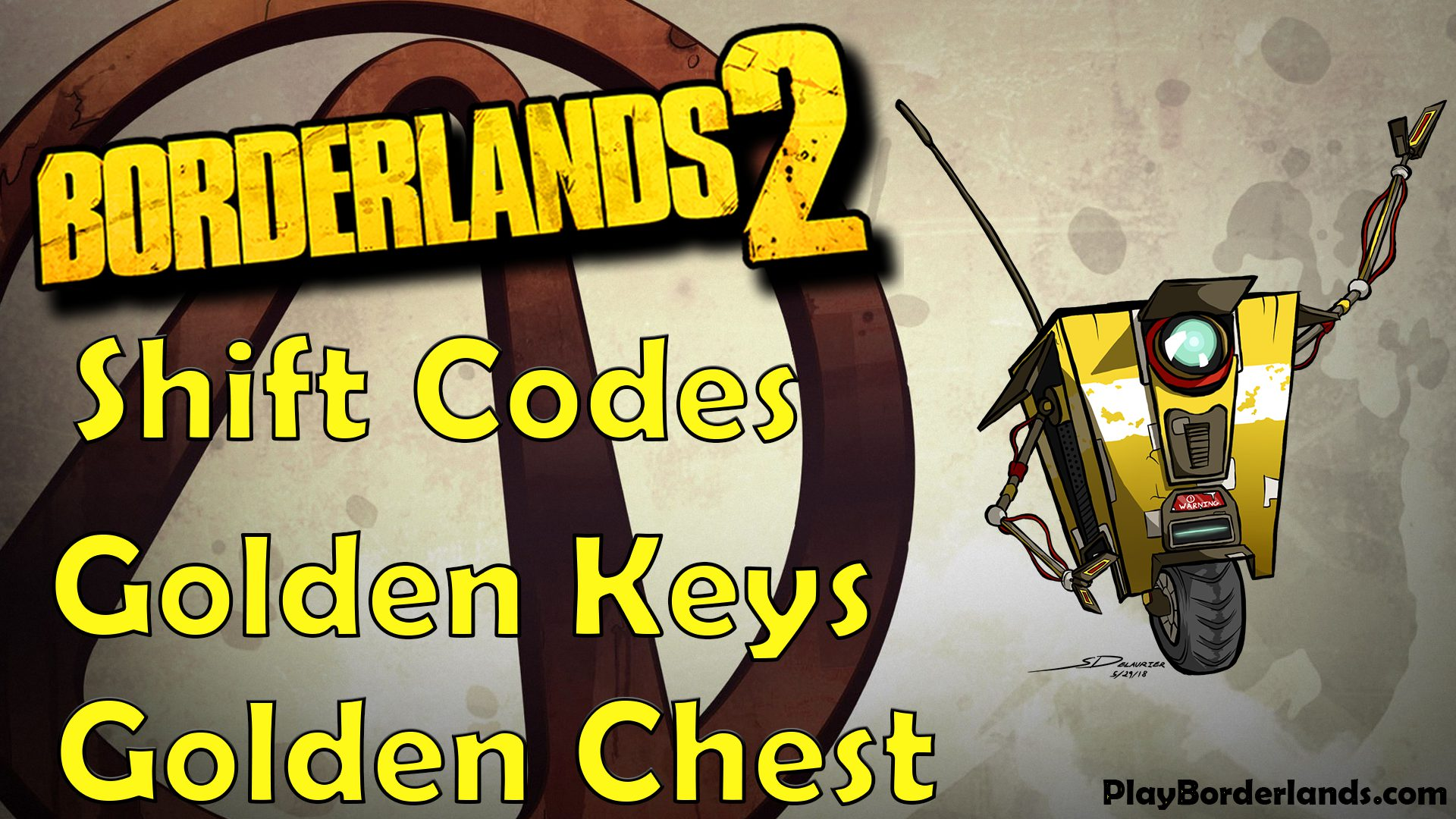 Borderlands 2 shift code golden keys golden chests