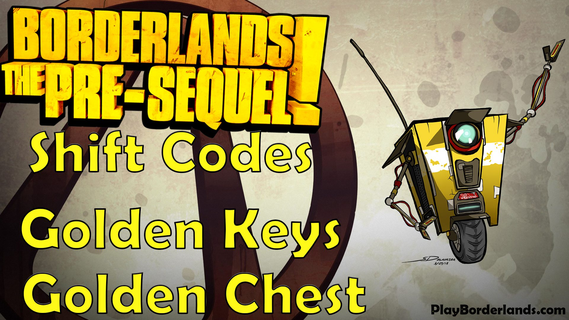 Borderlands Pre sequel Shift codes