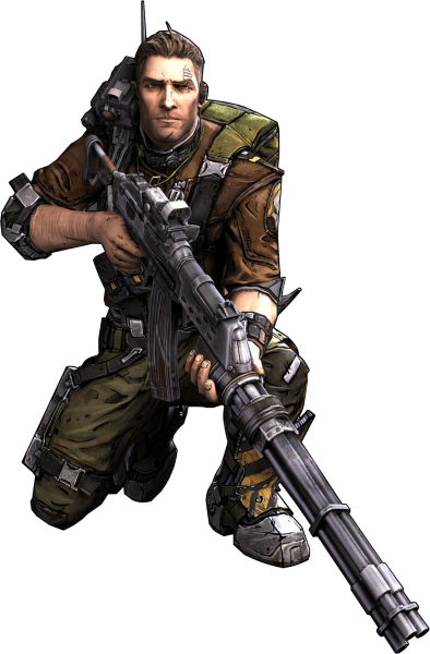 Axton playborderlands commando