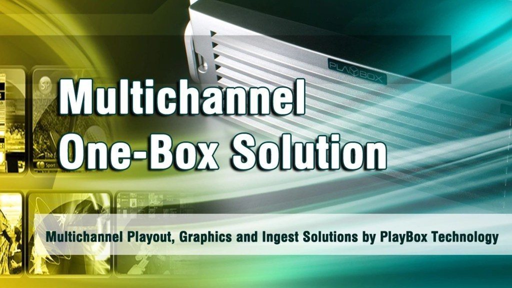 PlayBox Offers More in the Box at BVE 2012