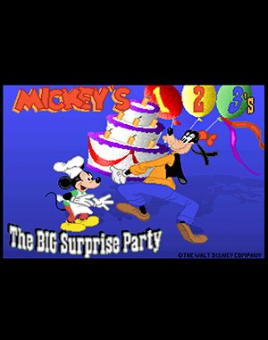 Mickey S 123 S The Big Surprise Party Play Game Online