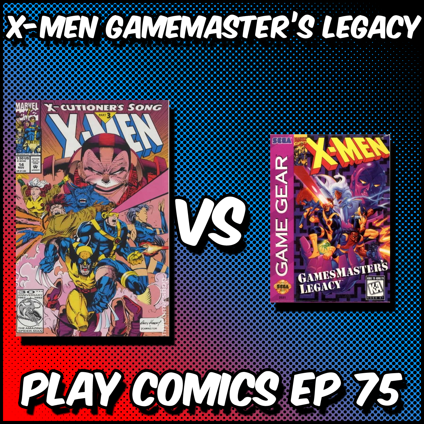 X-Men Gamemaster's Legacy with L.W. Salinas