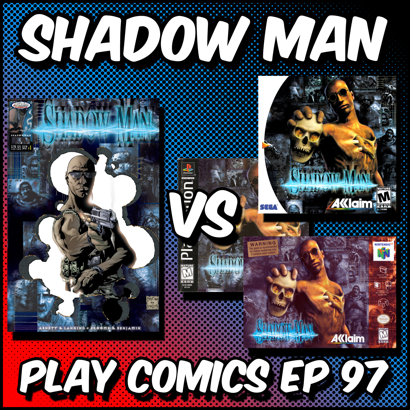 Shadow Man with Insane Ian