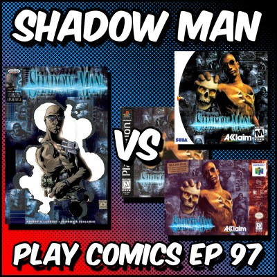 Shadow Man with Insane Ian