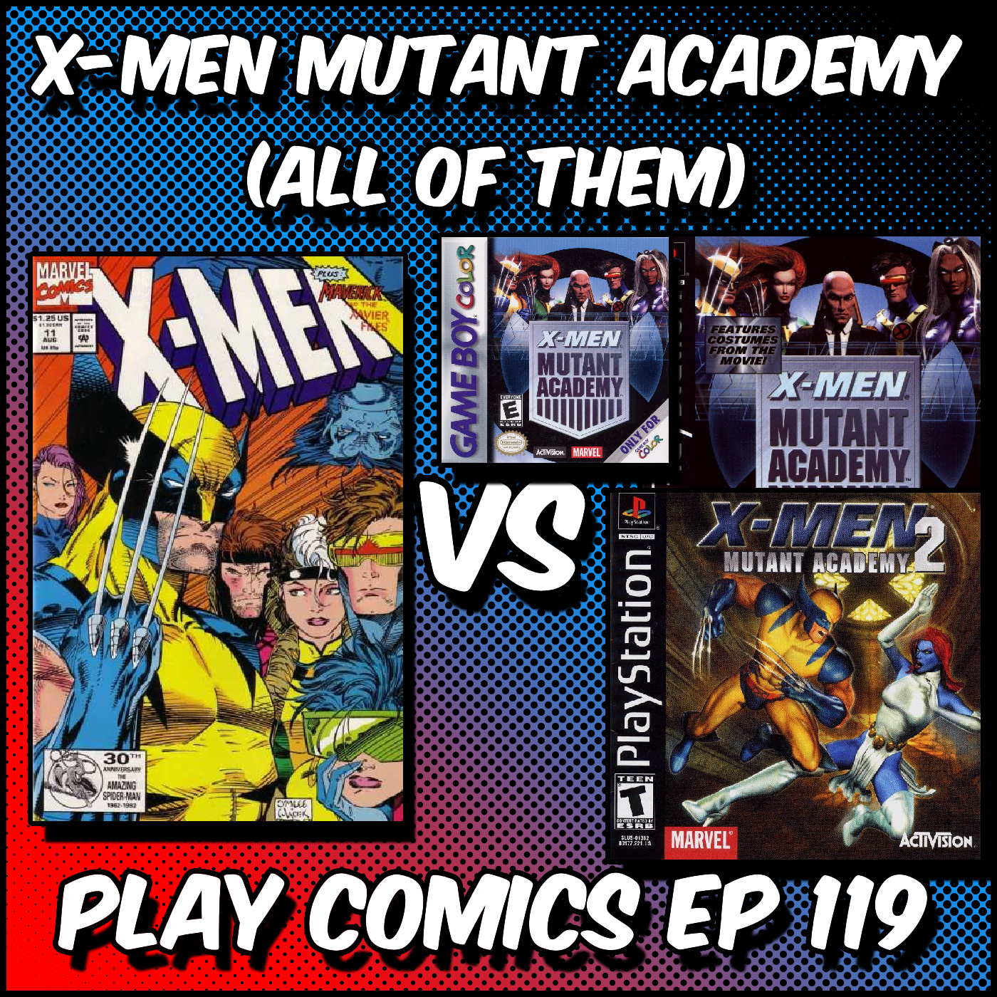 Mutant Academy (All of Them) With Billy