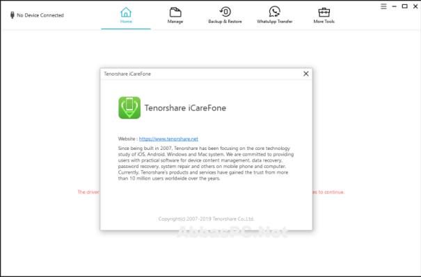 Tenorshare iCareFone Pro 7.5.1.0 Crack + Registration serial key 2021
