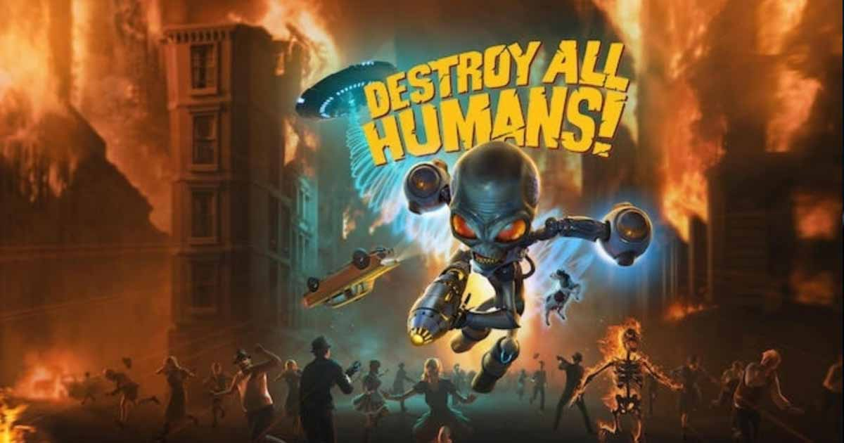Destroy All Humans! Goes Wild in the First Gameplay Video