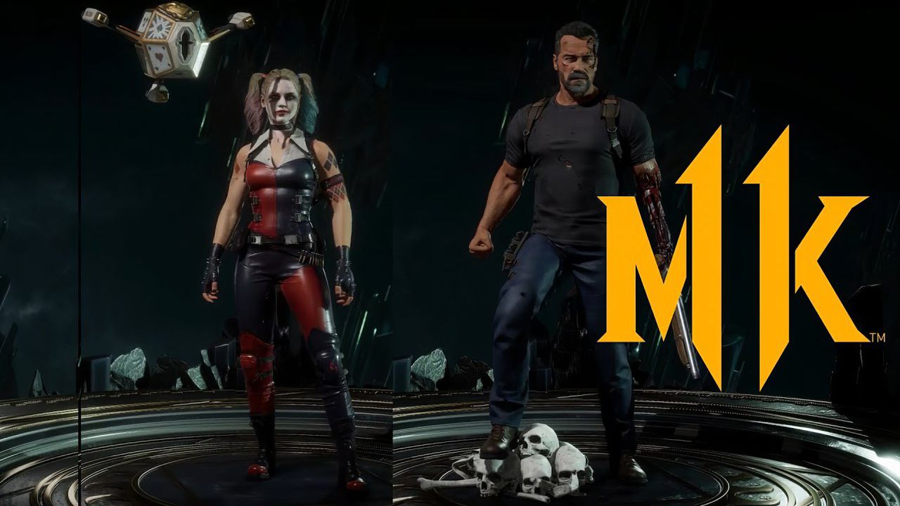 Mortal Kombat 11 Unveiled New Skins With Harley Quinn And