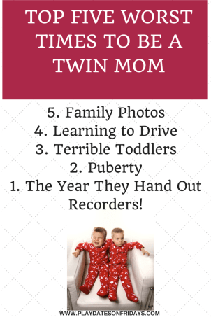 5 WORST TIMES TO BE A TWIN MOM