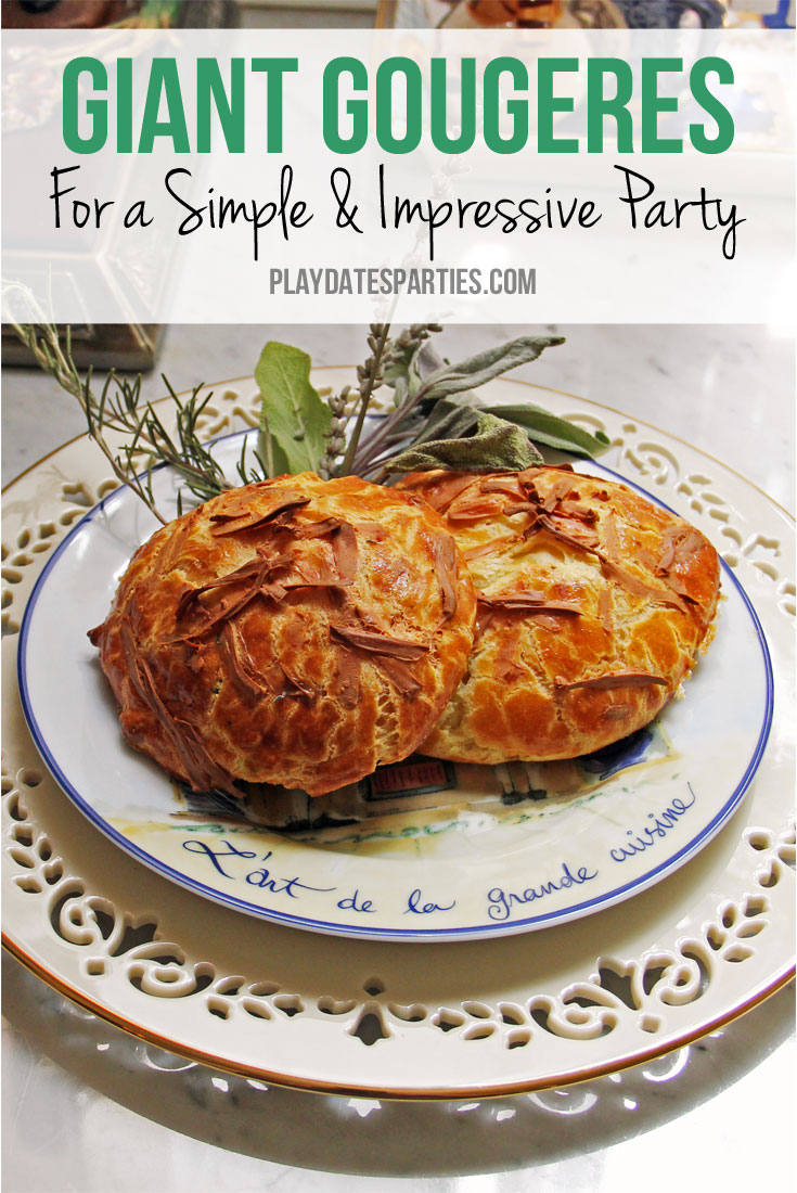 Impress Your Guests with Giant Gougeres
