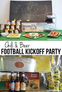 Chili and Beer Football Kickoff Party