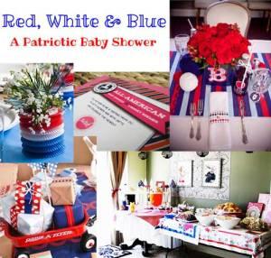 Patriotic Baby Shower Inspiration