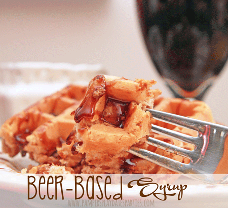 Make your own Beer Based Syrup