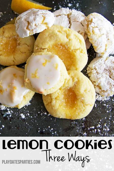 Love lemon? Take a look at this easy recipe for lemon clove cookies that can be made three different ways to suit anybody's preference.