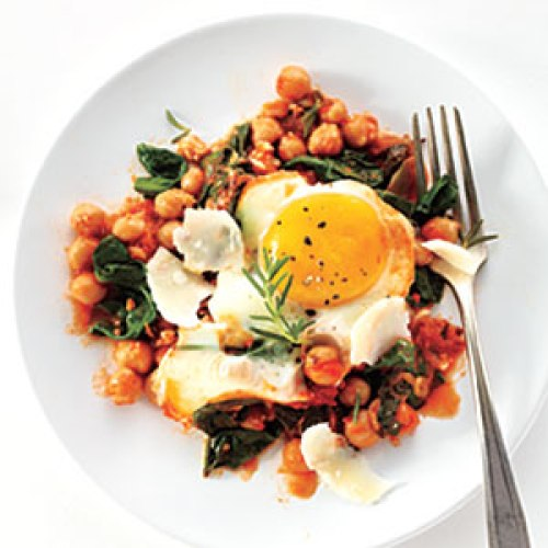 My Recipes - Eggs with Chickpeas