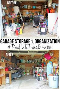 {Spring Cleaning} Garage Organization Tips