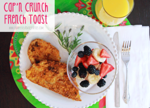 {Recipes} Cap'n Crunch French Toast