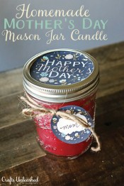 Crafts Unleashed Mothers Day Printable Mason Jar Label