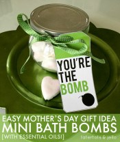 Tatertots and Jello - Youre Da Bomb Bath Bombs Free Mothers Day Printable